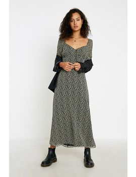 Uo Levita Georgette Midi Dress by Urban Outfitters