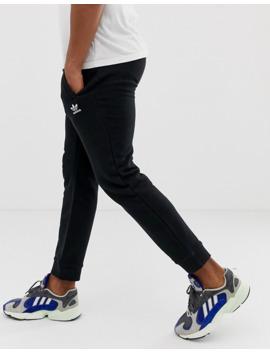 Adidas Originals Essentials Logo Joggers In Black by Adidas Originals