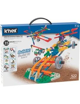 K'nex Click And Construct Box Building Set by Smyths