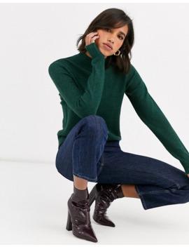 Vila Knitted Turtleneck Sweater by Vila