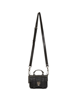 Black Micro Ps1 Bag by Proenza Schouler