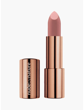 Nude By Nature Moisture Shine Lipstick, 01 Bare Pink by Nude By Nature