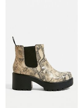 Vagabond Dioon Snakeskin Chelsea Boots by Vagabond