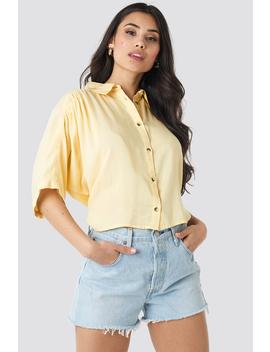 Short Sleeve Shirt Gelb by Na Kd