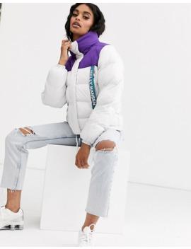 Helly Hansen P&C Puffer Jacket In White by Helly Hansen