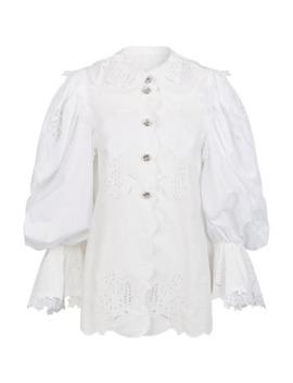 Floral Embellished Shirt by Dolce & Gabbana
