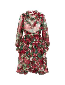 Geranium Mini Dress by Dolce & Gabbana
