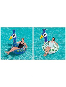 Bestway Large Peacock Swim Ring   Assorted* by Bestway