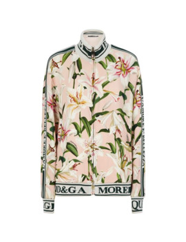 Floral Track Jacket by Dolce & Gabbana