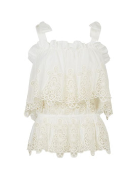 Lace Top by Dolce & Gabbana