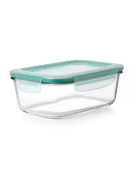 Oxo Good Grips® 3.5 Cup Smart Seal  Rectangle Glass Container by Bed Bath And Beyond
