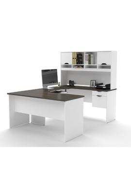 Innova U Shaped Workstation   Bestar by Bestar