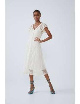 Koronkowa Sukienka by Zara
