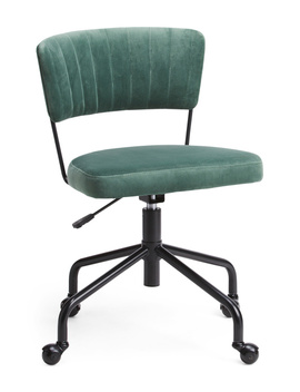 Tania Velvet Office Chair by Tj Maxx