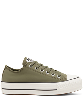 Womens Nubuck Chuck Taylor All Star Platform Low Top by Converse