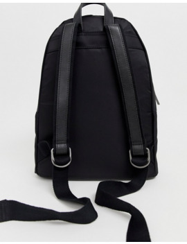 Matt & Nat Nylon Backpack In Black by Matt & Nat
