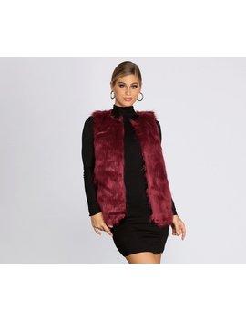 Faux Ever Fabulous Vest by Windsor