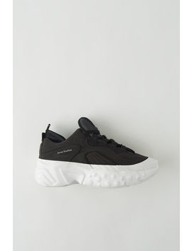 Lace Up Sneakers Black/White by Acne Studios