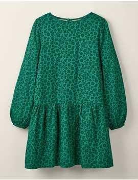 Ruffle Woven Dress by Boden