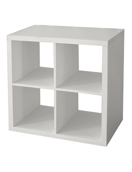 Clever Cube   White 2x2 by Homebase