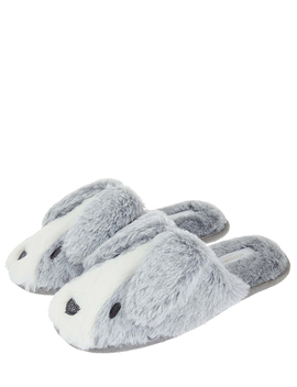 Bunny Mule Slippers by Accessorize