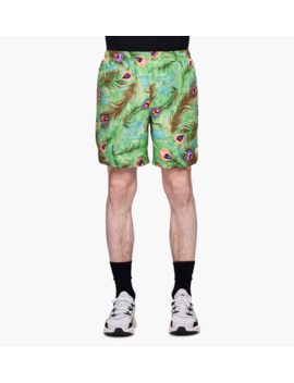 Peacock Water Shorts by Stussy