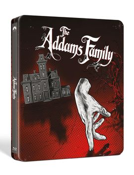 The Addams Family [Exclusive Blu Ray Steelbook] by Fye
