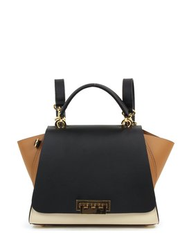 Eartha Iconic East West Colorblock Leather Convertible Backpack by Zac Zac Posen