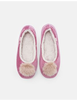 Pombury Ballet Style Slippers by Joules
