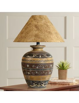 Haze Saddle Handcrafted Southwest Table Lamp by Lamps Plus