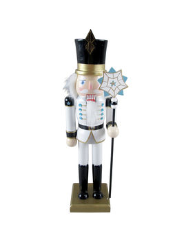 "Wooden Art Deco Nutcracker, 12""Wooden Art Deco Nutcracker, 12"" by At Home"