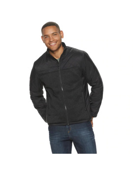 Men's Apt. 9 Quilted Sherpa Lined Full Zip Jacket by Apt. 9