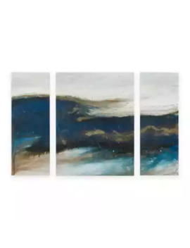 Ink+Ivy Rolling Waves Wall Art (Set Of 3) by Bed Bath And Beyond