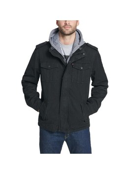 Men's Levi's® Hooded Military Trucker Jacket by Levi's