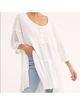 Free People We The Free Skye Tee   Nwt by Free People