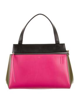 Tricolor Small Edge Bag by Celine