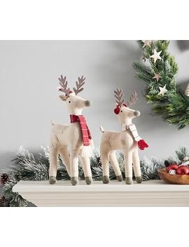 Wool Reindeer Decor by Pottery Barn Kids