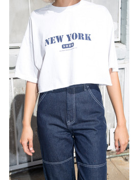 Kaitlynn New York Soho Top by Brandy Melville