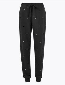 Flexifit™ Studded Drawstring Pyjama Bottoms by Marks & Spencer