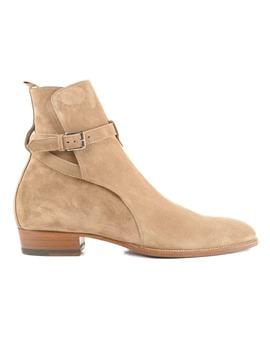 Saint Laurent Wyatt 30 Jodhpur Ankle Boots by Saint Laurent
