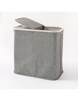 Bamboo Storage Hamper by West Elm