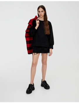 Pull Oversize Manches Bouffantes by Pull & Bear