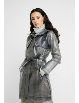 Check   Trenchcoat by Dorothy Perkins