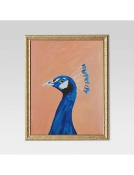 "24""X30"" Peacock Framed Wall Canvas   Opalhouse™ by Shop This Collection"