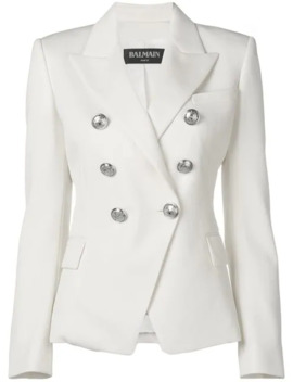 Double Breasted Blazer Jacket by Balmain