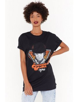 Clockwork Orange Graphic Tee by Nasty Gal