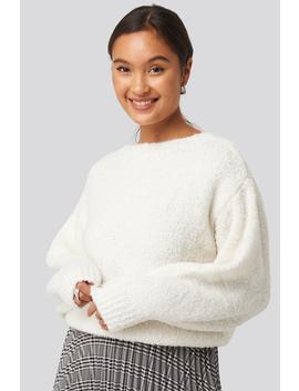 Dolly Sweater Blanc by Mango