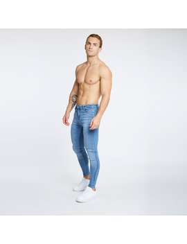 Light Blue Jeans   Non Ripped by Legend London
