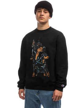 Butter Goods X Champion K9 Sweatshirt (Black) by Butter Goods