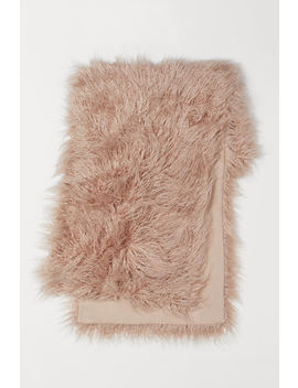 Faux Fur Bed Runner by H&M